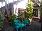 Chairs at Garden