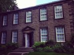 The Bronte Parsonage is over the moor in Haworth
