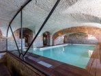 inside pool in the Villa basement....stunning