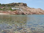 This restaurant is very convenient for the beach at Cala Morell.