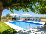 Stone made villa located within a walking distance to the sandy beach!