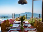 Suppers that will never end with an amazing view of Mediterranean Sea