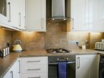 All important appliances such as cooker, hob, dishwasher  etc