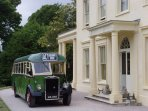 Torquay is the home of Agatha Christie - you can visit her holiday home Greenway.