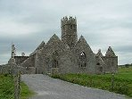 14th cen. Ross Errily Friary(1km from Headford) one of the best preserved ruins in Ireland