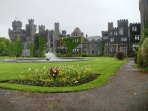 Ashford Castle and hotel  15 mins drive away in Cong village
