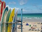 Why not book a surfing lesson during your stay ?