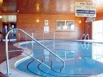 Indoor swimming pool and sauna