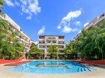 Hotel,Resort,Building,Pool,Water