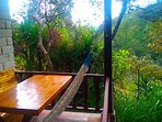 View from balcony - Hummingbird Suite - Vilcabamba