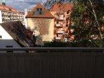 Balkonaussicht zum Hinterhof