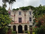 St. Nicholas Abbey with many antiques. Also its old rum is worth wile to test and buy!