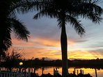 Stunning Sunrise from the docks