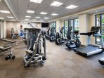 The WestinWORKOUT Fitness Studio.