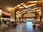 The Westin Nanea Ocean Villas Welcome Lobby.