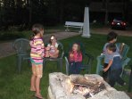 S'mores for the gang! Yum.