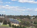 Yarra River views from balcony