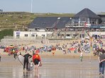 The multi million pound surf centre on Fistral beach