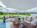 pool terrace and sun deck