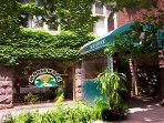 Dine in Ithaca at the famous Moosewood Restaurant for vegetarian delight (35 min's south).