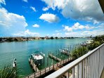 Inviting condo with beautiful view of Clearwater Harbor.