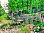 Spring time at the Cabins of Kelly Mountain in Elkins, West Virginia