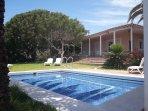 Wonderfull Villa Sainte Maxime, 1000m2 private garden, HEATED POOL, Costa Adeje