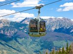 Cable Car,Trolley,Mountain,Architecture,Clock Tower