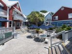 Shop, Dine, Relax at the South Beach Marina - just a short 3 minute walk away