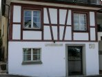 Own entrance for this Appartement Dorfstrasse 58, Meilen