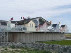 the Oystercatcher Restaurant in the Rhosneigr Dunes
