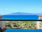 Admire the direct views of Maui's neighbor island of Lanai