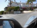 11) The entrance to Residencial El Albanil