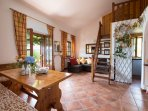 Country house Cedro near Viterbo . Pool, view, garden, gym