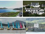 TraNaRossan, The Must Visit 'Harbour Bar', Lots of Beach Activities and Doe Castle to name a few