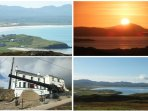 Explore beautiful Downings. The Sun Set Was Taken From Seaview Holiday Home