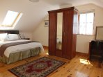 Spacious Master Bedroom With King Size Divan Bed and Ensuite