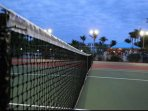 Use of the tennis courts included with your reservation.
