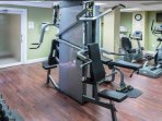 Use of the 24 hour fitness center included with your reservation.