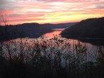 Sunset on Center Hill Lake
