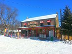 Port Albert General Store.  Produce, tasty take out food, gas, ice cream cones.  A 5-7 minute drive.