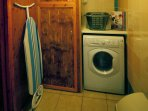 Haywain utility room with washer/dryer ironing facilities and airing cupboard