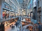 10 minute walk from the Eaton Centre
