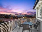 Fabulous views from your own private balcony and lounge