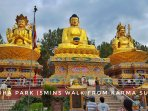 Buddha park just 5 mins from Karma Suites
