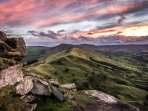 Back Tor - a great place to practise your photography