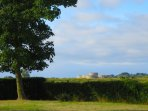 View of Camber Castle from garden