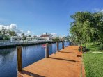 Classic Floridian Waterfront  4 bedroom 3 bathroom Home with Private Pool