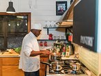 Smiley is Villa Pierre's private Chef and renowned 5-Star Chef in Saint Lucia