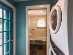 Laundry Room , Door to Deck and Pool Areas